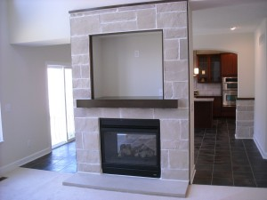 See-Through Fireplace II